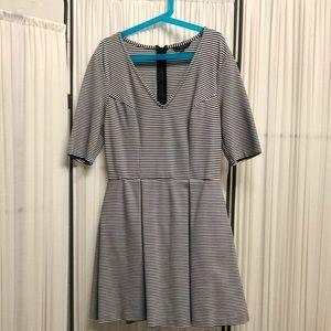 EUC Guess Striped Skater Dress - Size Small